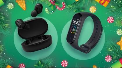 "Xiaomi Airdots и Xiaomi Mi Band 4 - лучшие идеи подарков на Новый год от ""GADGIK"""