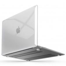 """Чехол-накладка пластиковая Clear Case Apple Macbook Air 13"""" (Прозрачный)"""