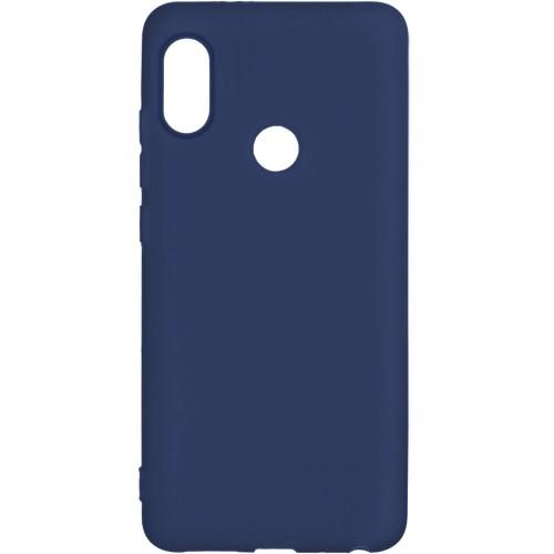 Силикон iNavi Color Xiaomi Redmi Note 5 / Note 5 Pro (темно-синий)