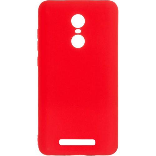 Силиконовый чехол iNavi Color Xiaomi Redmi Note 3 / Note 3 Pro (Красный)