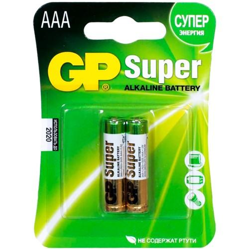 Батарейка GP AAA (LR3 FOL 2)