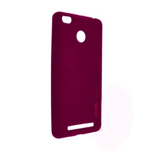 Силиконовый чехол SMTT Xiaomi Redmi 3s (розовый)