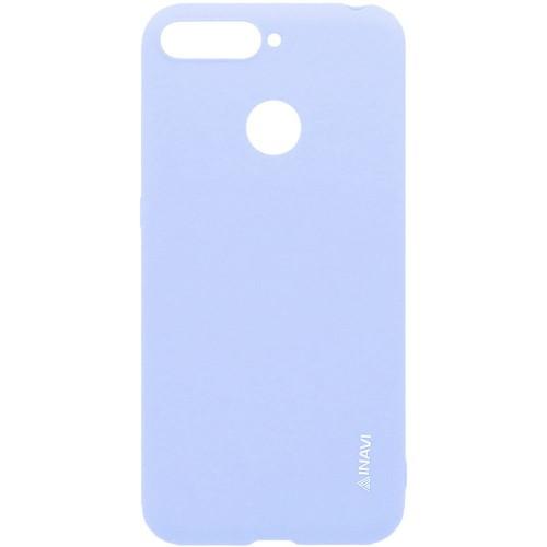 Силиконовый чехол iNavi Color Huawei Y6 Prime (2018) / Honor 7A Pro (нежно-голуб..