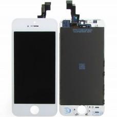 Дисплейный модуль Apple iPhone 5G (White) (High Copy)