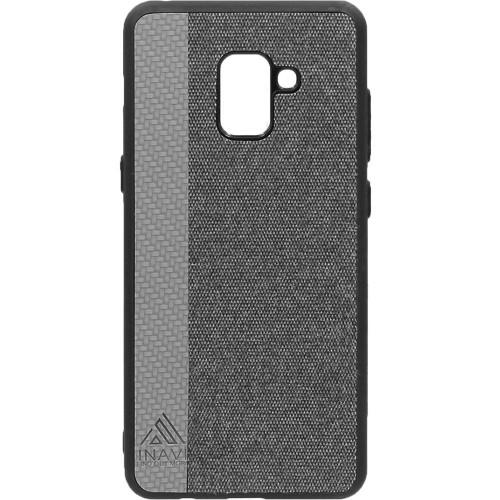 Силиконовый чехол Inavi Samsung J2 (2018) J250 (серый)