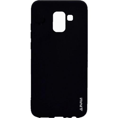 Силиконовый чехол Inavi Samsung J2 (2018) J250 (черный)