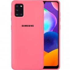 Силикон Original Case Samsung Galaxy A31 (2020) (Клубничный)