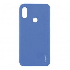 Силикон iNavi Color Xiaomi Mi Max 3 (Темно-синий)