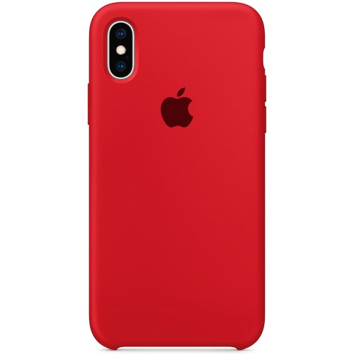 Силиконовый чехол Original Case Apple iPhone X / XS (05) Product RED
