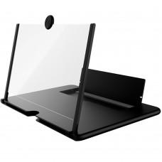 """Подставка-увеличитель экрана телефона 3D Ming 10"""" (Чёрный)"""
