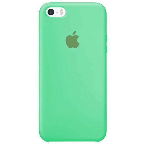 Силиконовый чехол Original Case Apple iPhone 5 / 5S / SE (49) Aquamarine