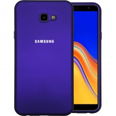 Силикон Original Case Samsung Galaxy J4 Plus (2018) J415 (Фиолетовый)