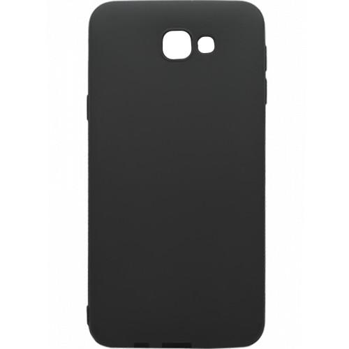 Силиконовый чехол iNavi Color Samsung Galaxy J5 Prime G570 (Чёрный)
