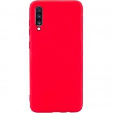 Силикон iNavi Color Samsung Galaxy A70 (2019) (Красный)
