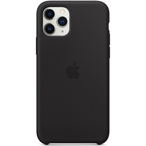 Силиконовый чехол Original Case Apple iPhone 11 Pro Max (07) Black