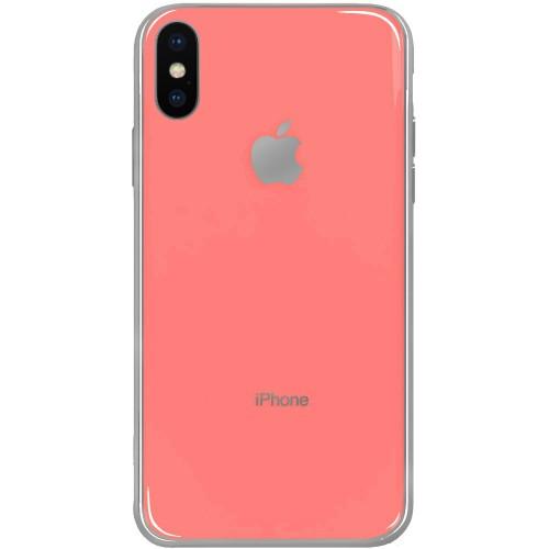 Силикон Zefir Case Apple iPhone X / XS (Розовый)