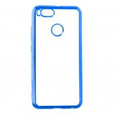 Силиконовый чехол UMKU Line Xiaomi Mi8 Lite (Синий)