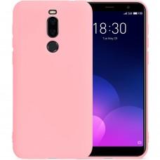 Силиконовый чехол iNavi Color Meizu M6T (Розовый)