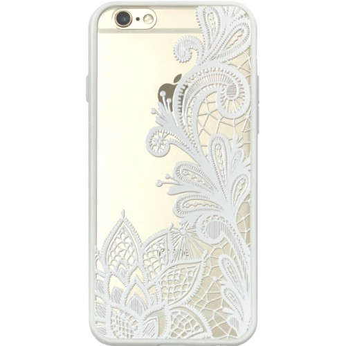 Силикон Pattern Apple iPhone 6 / 6s (Белый)