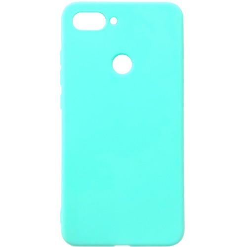 Силиконовый чехол iNavi Color Xiaomi Mi8 Lite (Бирюзовый)