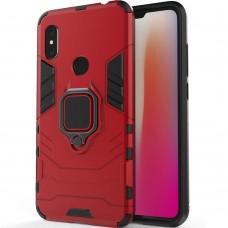 Бронь-чехол Ring Armor Case Xiaomi Redmi Note 6 / Note 6 Pro (Красный)