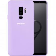 Силикон Original 360 Case Logo Samsung Galaxy S9 Plus (Фиалковый)