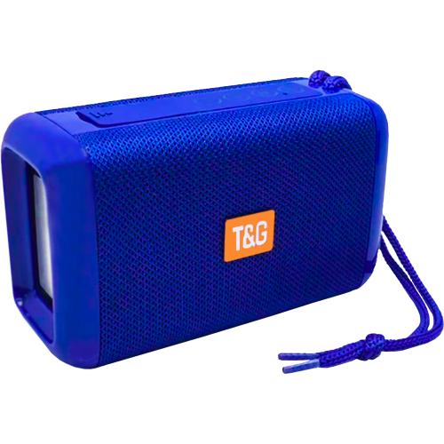 Колонка T&G (TG163) Bluetooth (Синий)