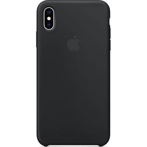 Чехол Silicone Case Apple iPhone X / XS (Black)