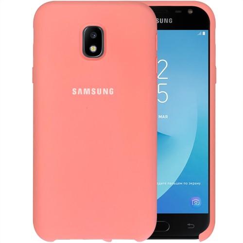Силикон Original Case HQ Samsung Galaxy J3 (2017) J330 (Розовый)