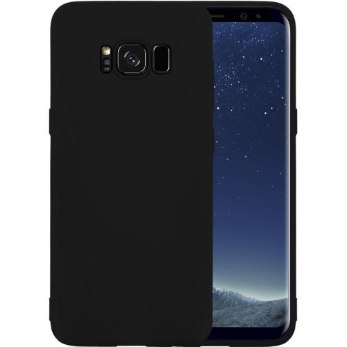 Силиконовый чехол iNavi Color Samsung Galaxy S8 Plus (Черный)