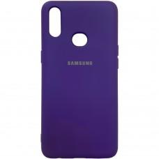 Силикон Original Case (HQ) Samsung Galaxy A10s (2019) (Фиолетовый)