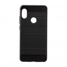 Силикон Polished Carbon Xiaomi Mi Play (Чёрный)