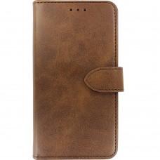 Чехол-книжка Leather Book Xiaomi Redmi Note 8 (Коричневый)