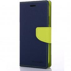 Чехол-книжка Goospery Canvas Diary Lenovo A6020  (Синий)