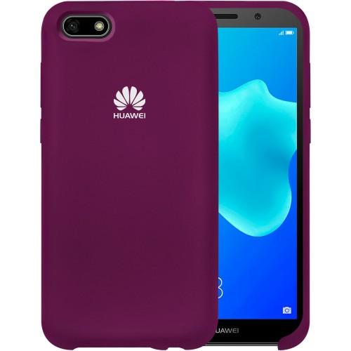 Силикон Original Case HQ Huawei Y5 Prime (2018) / Honor 7A (Сиреневый)
