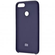 Силиконовый чехол Original Case Xiaomi Mi5x / Mi A1 (Тёмно-синий)