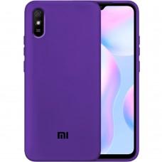 Силикон Original Case Xiaomi Redmi 9A (Фиолетовый)