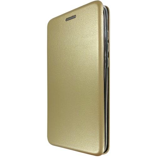 Чехол-книжка Оригинал Samsung Galaxy J3 (2016) J320 (Золотой)
