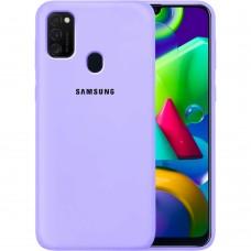Силикон Original Case Samsung Galaxy M21 (2020) (Фиалковый)
