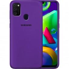 Силикон Original Case Samsung Galaxy M21 (2020) (Фиолетовый)