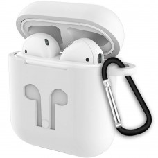 Футляр для наушников Apple AirPods Full Silicone Case (06) White