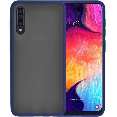 Накладка Totu Gingle Series Samsung Galaxy A30S / A50 (2019) (Тёмно-синий) (уцен..