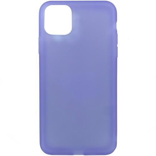 Силикон TPU Latex Apple iPhone 11 Pro (Фиолетовый)