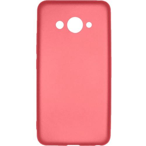 Силиконовый чехол Soft Color Huawei Y3 2017 Розовый