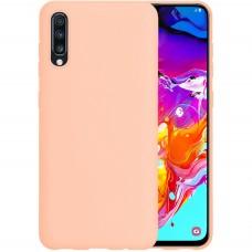 Силикон iNavi Color Samsung Galaxy A70 (2019) (Розовый)