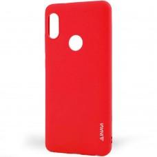 Силиконовый чехол iNavi Color Huawei P Smart Plus (красный)
