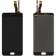 Дисплейный модуль Meizu M5 Note (M621) (Black)