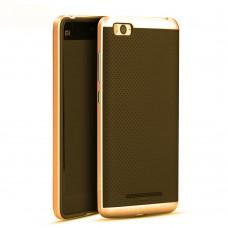 Силиконовый чехол iPaky Carbon Case Xiaomi Mi5S (Золотой)