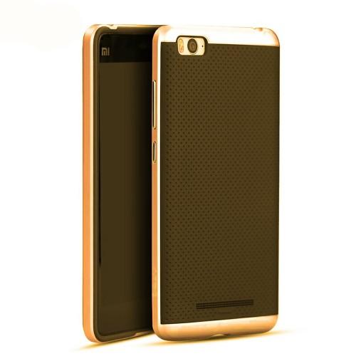Силикон iPaky Carbon Case Xiaomi Mi5S (Золотой)