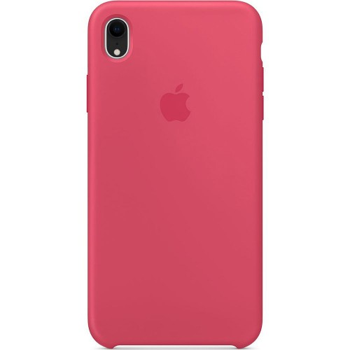 Чехол Silicone Case Apple iPhone XR (Hibiscus Pink)